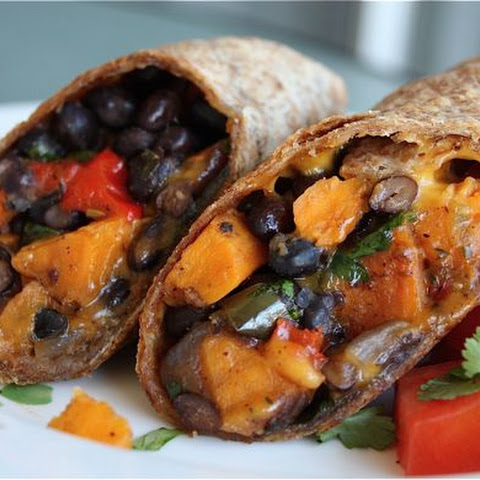 10 Best Healthy Black Bean Burritos Recipes | Yummly