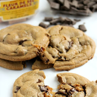 Caramel Stuffed Chocolate Chunk Cookies