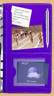 Agenda Purple Theme for TL- screenshot thumbnail