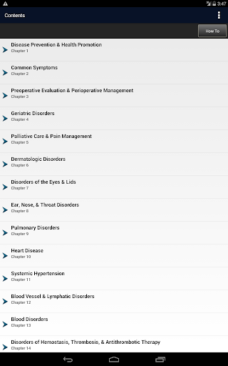 CURRENT Medical Diag & Treat. - screenshot