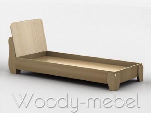 Детская мебель: Кровать КР-5