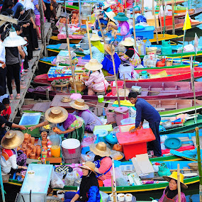 Hatyai Floating Market by Asrul CikguOwn - City,  Street & Park  Markets & Shops