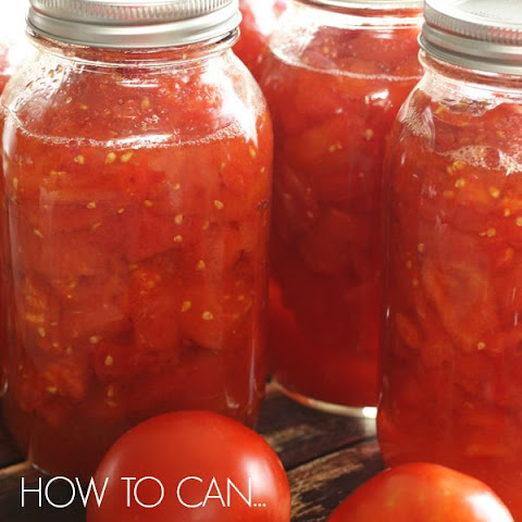 Canned Diced Tomatoes (or Canned Crushed Tomatoes)