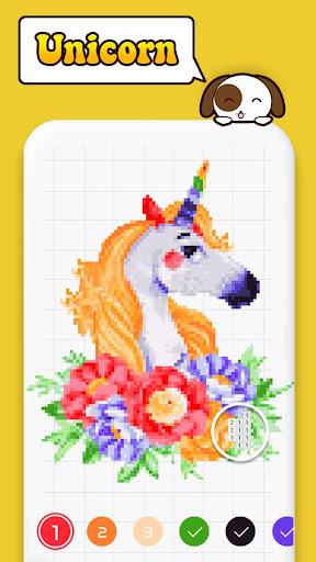 Color by Number: Pixel Art Color Number