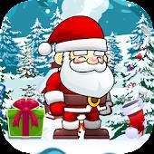 Christmas Santa and Friend