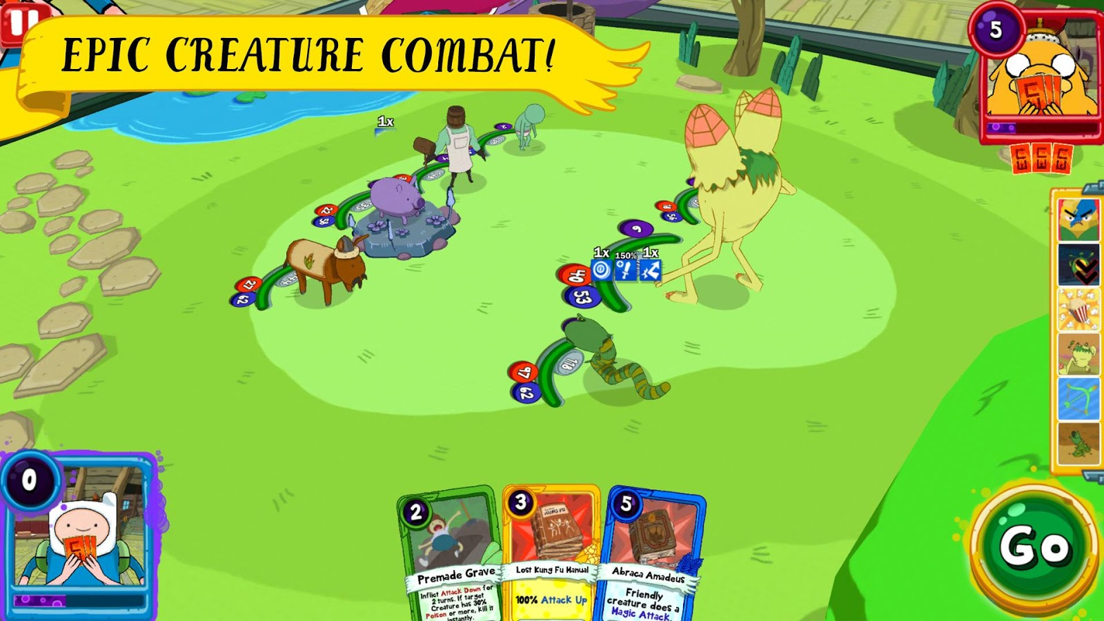 Card Wars Kingdom Screenshot 1
