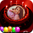 Pic on Birthday Cake with Name and Photo Maker