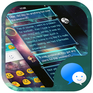 Galaxy War Messages Theme