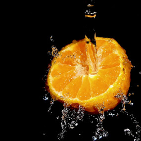 Orange Splash by Premkumar Antony - Food & Drink Fruits & Vegetables ( water, orange, fruit, stock, splash, food )
