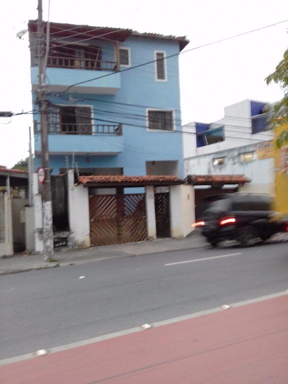 Sobrado residencial para locação, Centro, Caraguatatuba.