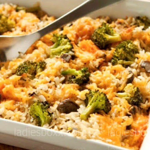 Rice Casserole With Cheese And Broccoli
