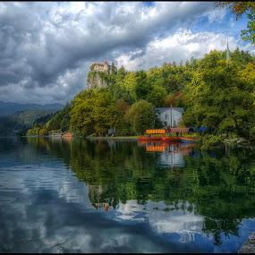 Bled, Slovenia by Jana Vondráčková - Landscapes Waterscapes
