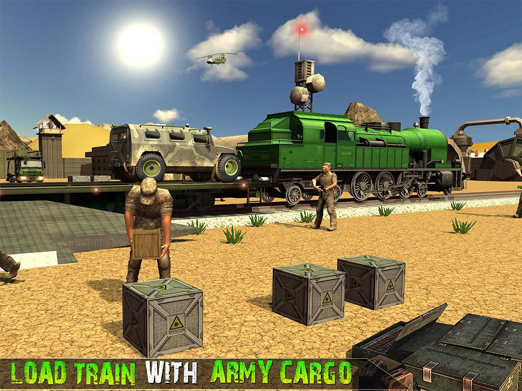 OffRoad US Army Zug Fahrsimulator android spiele download