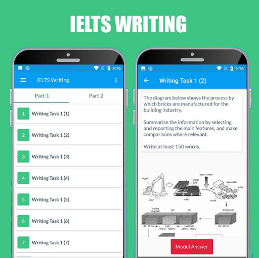 IELTS Practice & IELTS Test (Vocabulary - Writing) screenshot 4