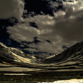 Destination Heaven by Debajit Bose - Landscapes Travel ( cloud formations, mountains, life, blue sky, nature, snow, cloud, travel, landscape )
