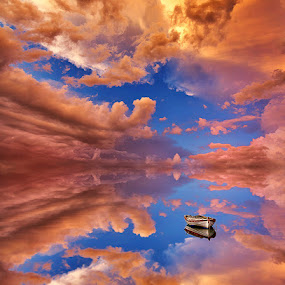 Not of this earth by Χρήστος Λαμπριανίδης - Landscapes Cloud Formations