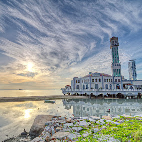 Floating Mosque by Danny Tan - Buildings & Architecture Places of Worship