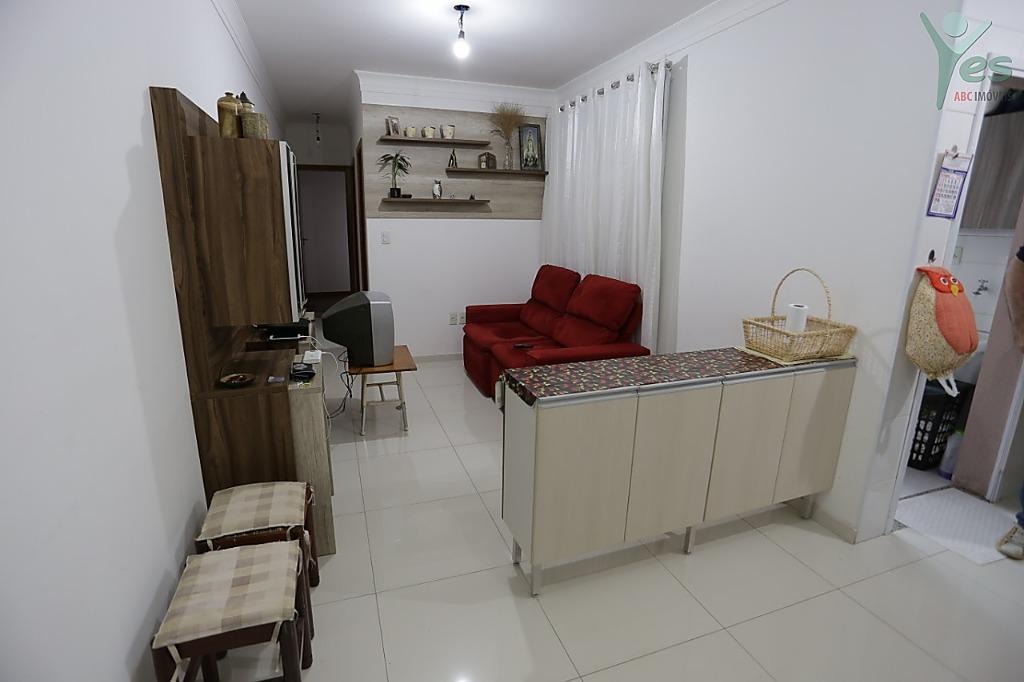 Apartamento com 2 dormitórios à venda, 60 m² por R$ 342.000,00 - Parque das Nações - Santo André/SP