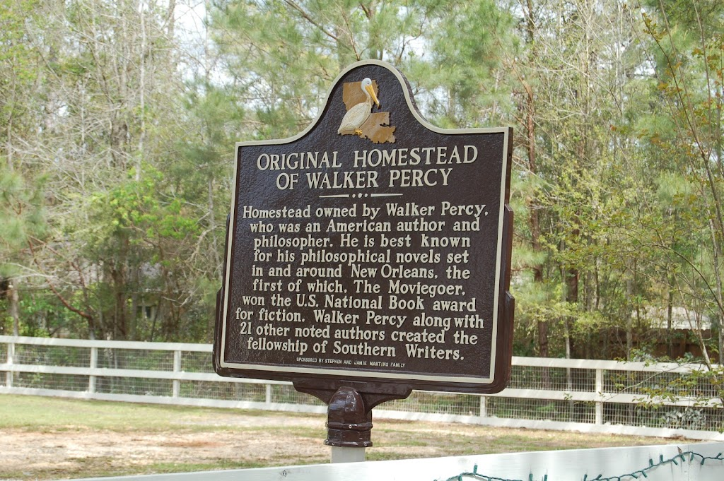 Homestead owned by Walker Percy, who was an American author and philosopher. He is best known for his philosophical novels set in and around New Orleans, the first of which, The Moviegoer, won the ...