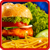 Street Burger Maker && Kitchen APK for Bluestacks