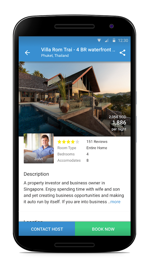 HomeAway Screenshot 2