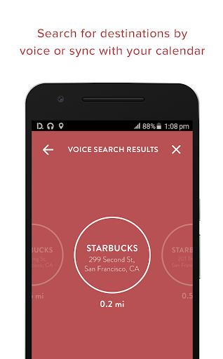 Drivemode: Driving interface - screenshot
