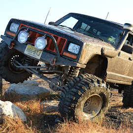 Monster Jeep Cherokee by Ryan McCloskey - Transportation Automobiles