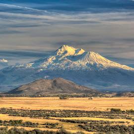 Mt Shasta by Jason James - Landscapes Mountains & Hills