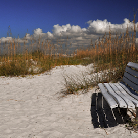 Relax by Mark Turnau - Landscapes Beaches ( tranquil, sand, sky, relax, ocean, tranquility, beach, relaxing )