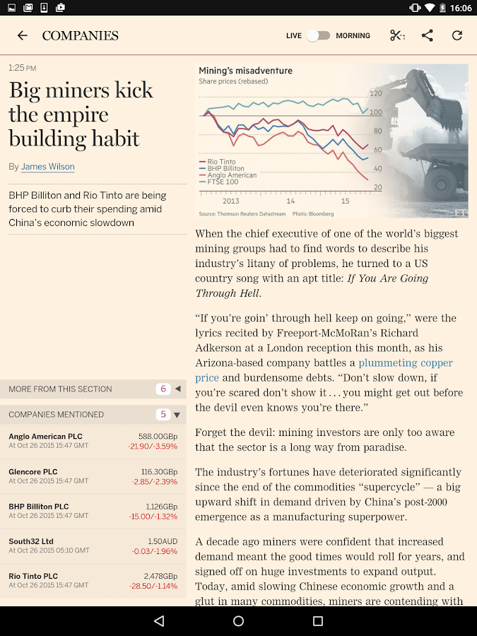 Financial Times Screenshot 12