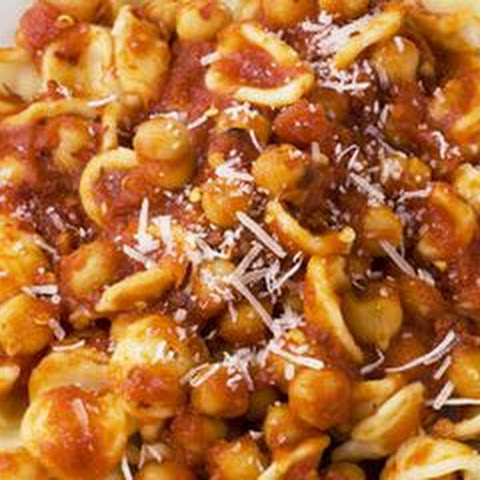 Orecchiette with Spicy Chickpea Sauce