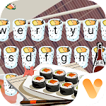 Yummy Cute Sushi Keyboard Theme Icon