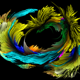 color abstract by LADOCKi Elvira - Digital Art Abstract ( abstract, color )