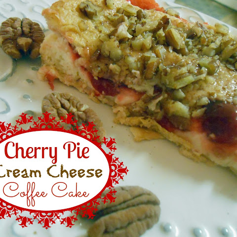 Cherry Pie Cream Cheese Coffee Cake