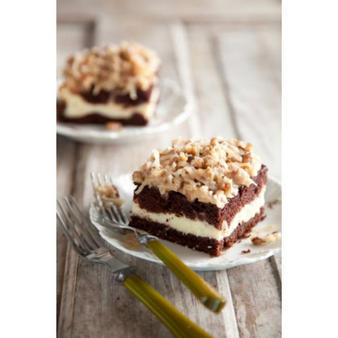 German Chocolate Cake Cheesecake Style