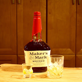 Maker's Mark by Debra Branigan - Food & Drink Alcohol & Drinks ( food &drink, whisky, alcohol & drinks, maker's mark, photography,  )