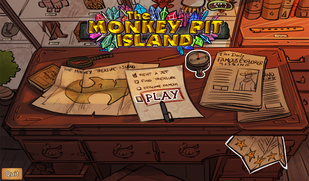 The Monkey Pit Island - Survive the treasure curse Screenshot 17