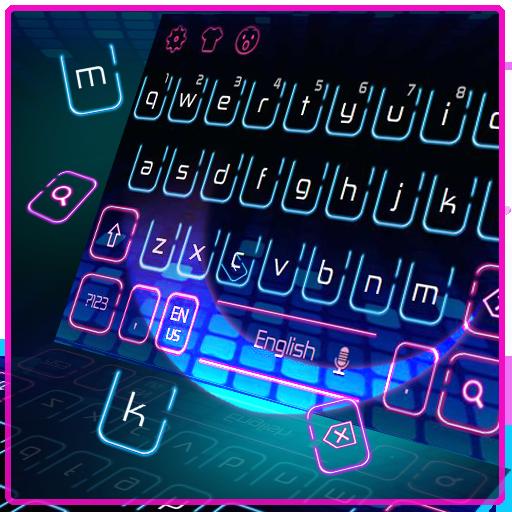 Hologram Neon Keyboard (app)
