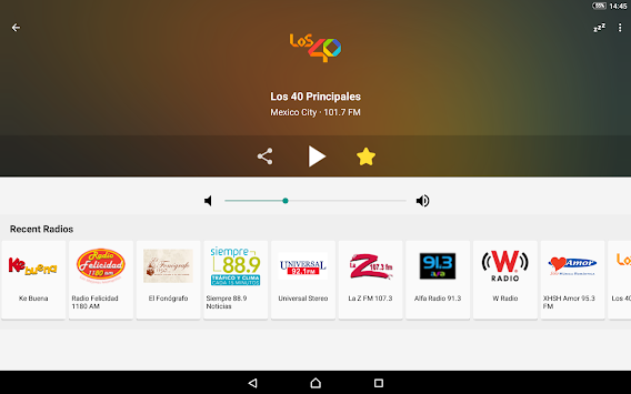 Radio México APK screenshot thumbnail 7