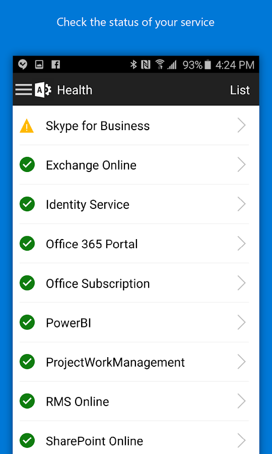 Office 365 Admin Screenshot 2