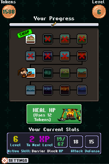 Pixel Poker Battle Screenshot 0