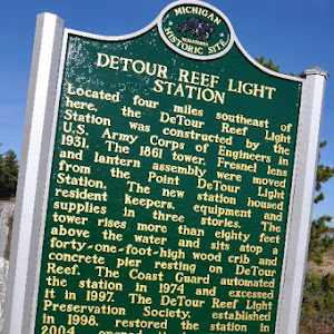 Located where the St. Mary's River enters Lake Huron from Lake Superior, DeTour Passage separates the Upper Peninsula from Drummond Island. It has long been a choke point for Great Lakes shipping. ...
