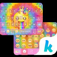 Tie Dye Themefor Kika Keyboard For PC (Windows And Mac)