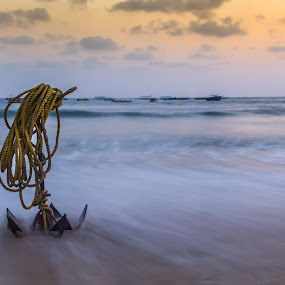 Learn from a Anchor to stay still by Bhavik Patel - Landscapes Beaches ( beach )