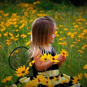 Busy Bee by Brenda Shoemake - Babies & Children Child Portraits (  )