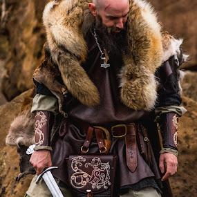 Jez the Viking  by John Haswell - People Portraits of Men ( viking, cosplay, vikings, costume, portrait,  )