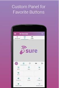 Download SURE Universal Smart TV Remote APK for Android Kitkat