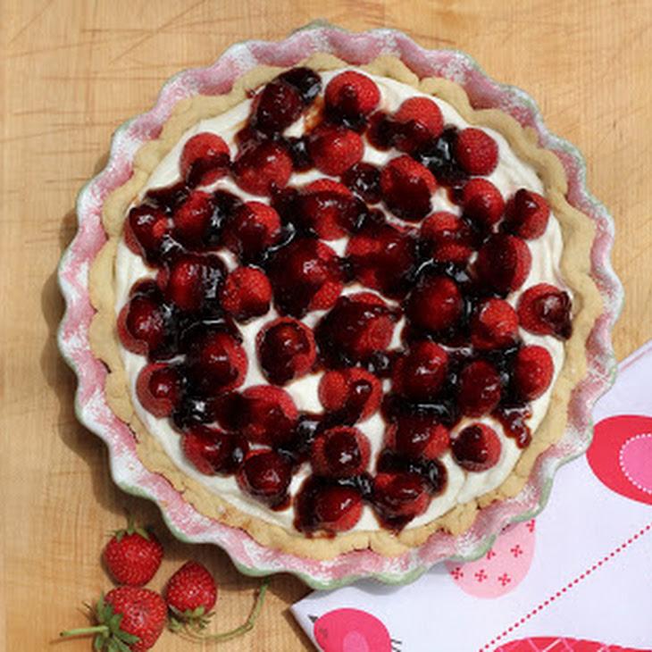 Cream Cheese Strawberry Pie Recipe | Yummly