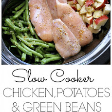 Slow Cooker Chicken Potatoes & Green Beans