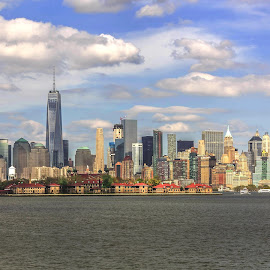 new york city by Muzaffer Gülenç - City,  Street & Park  Skylines ( skylines, cityscape, new york city, new york, city )